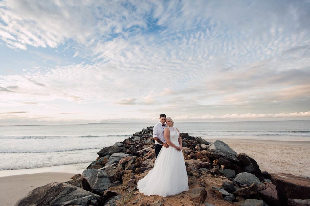 Fearless Noosa Heads Drone Destination Wedding, Queensland - Brisbane, Sunshine Coast, Australian Photographer