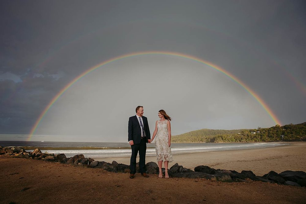 Best Noosa Main Beach Elopement Wedding Photographer - Sunshine Coast, Queensland, Australian