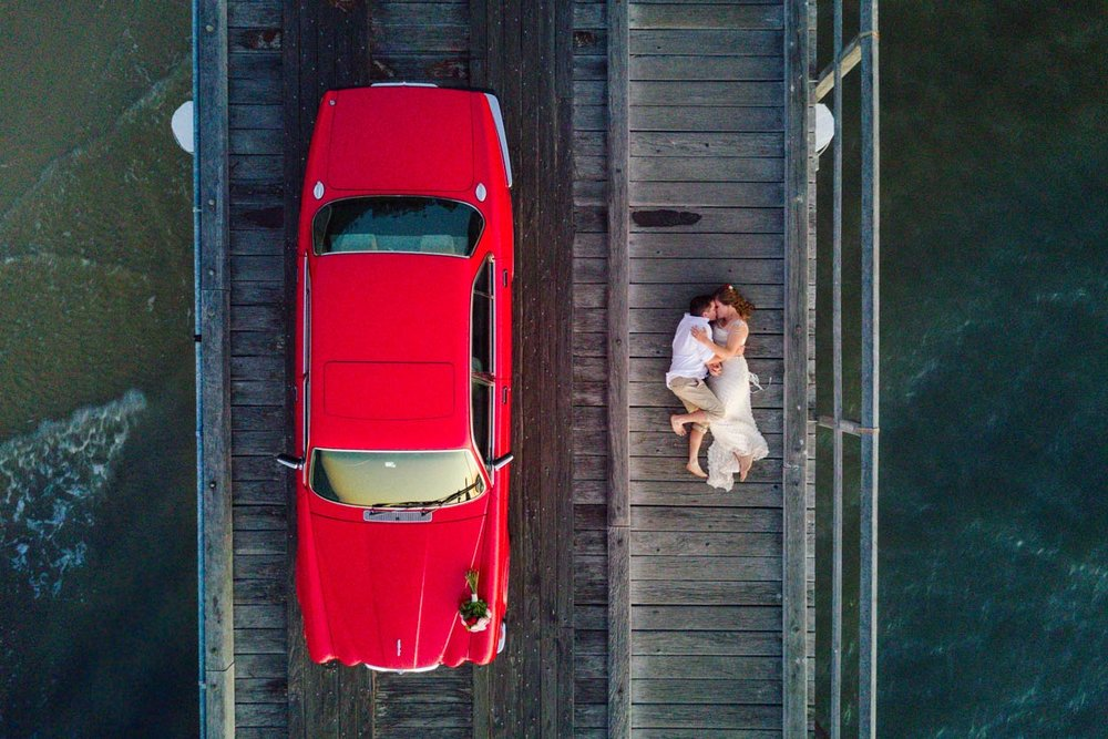 Creative Fine Art Drone Wedding Photographer, Sunshine Coast - Noosa, Sunshine Coast, Australian Destination