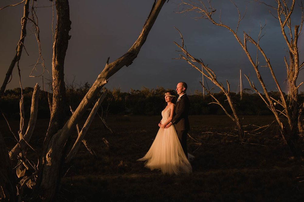 Noosa Sunset Destination Wedding Photographer Blog - Top Sunshine Coast, Queensland, Australian Pics
