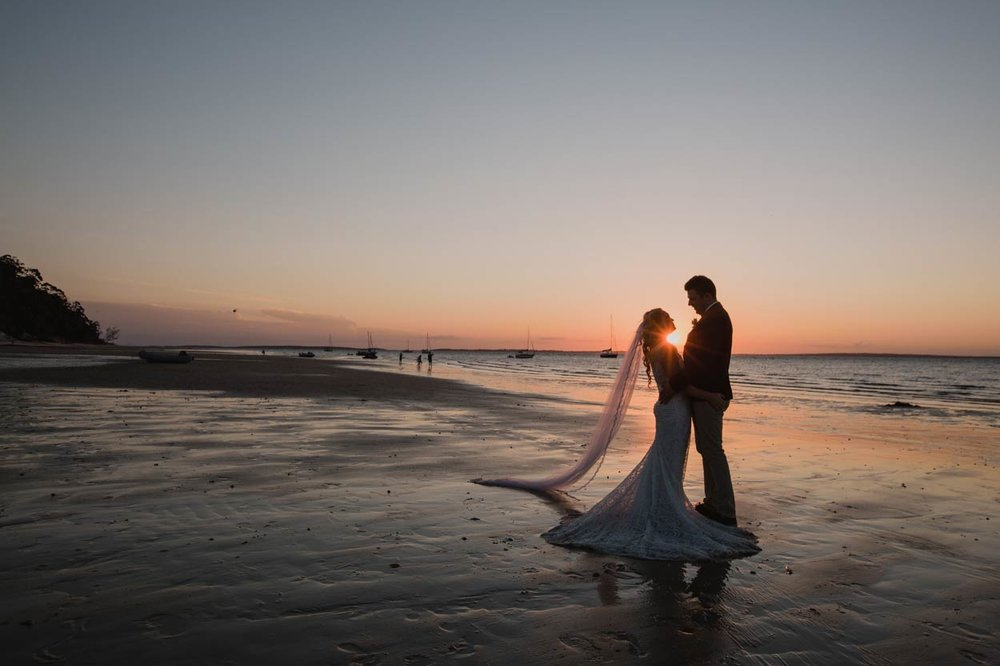 Magic Noosa Destination Wedding Photographer Dress Photos - Queensland, Sunshine Coast, Australian