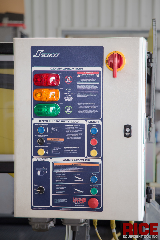 Shown Above: Serco Master Control Panel