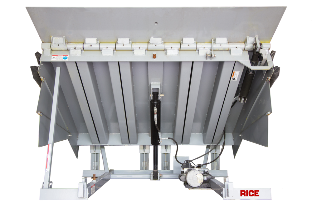 Rice Equipment Serco Hydraulic Dock Leveler