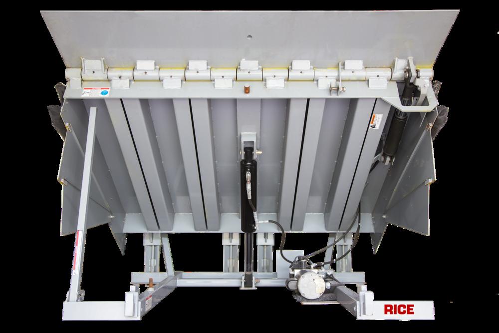 Rice Equipment Serco Hydraulic Dock Leveler