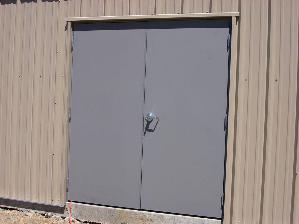 Entry Doors Hollow Metal Doors Rice Equipment Co Loading Dock Door Service