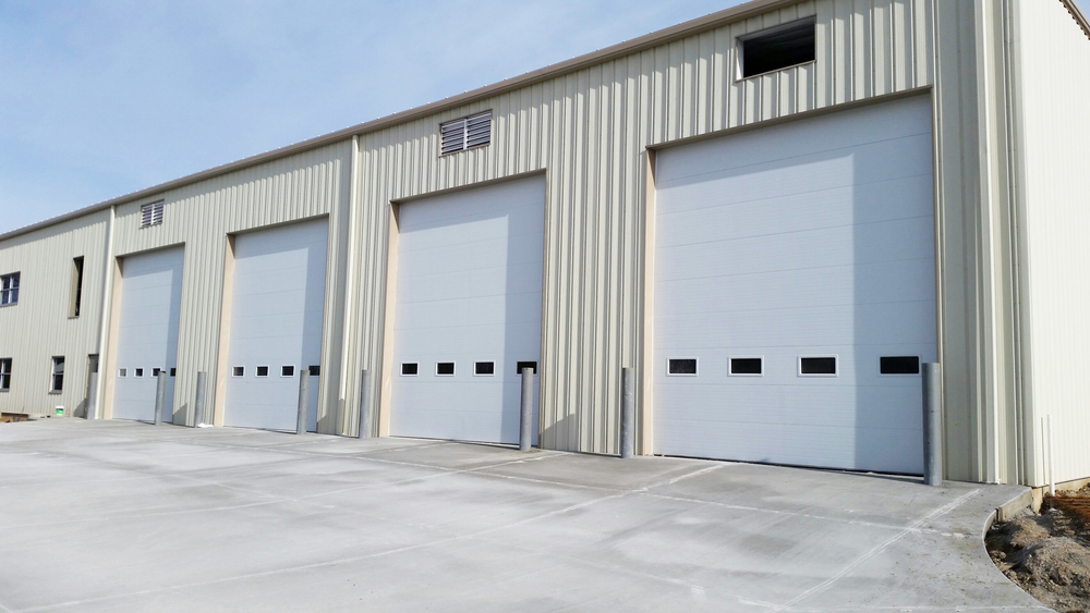 Rice Equipment Sectional Door Project & Sectional Overhead Doors u2014 Rice Equipment Co. Loading Dock u0026 Door ...