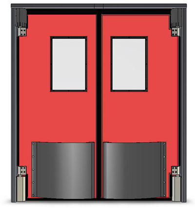 Impact door 4.jpg  sc 1 st  Rice Equipment Co & Traffic Impact Doors u2014 Rice Equipment Co. Loading Dock u0026 Door Service