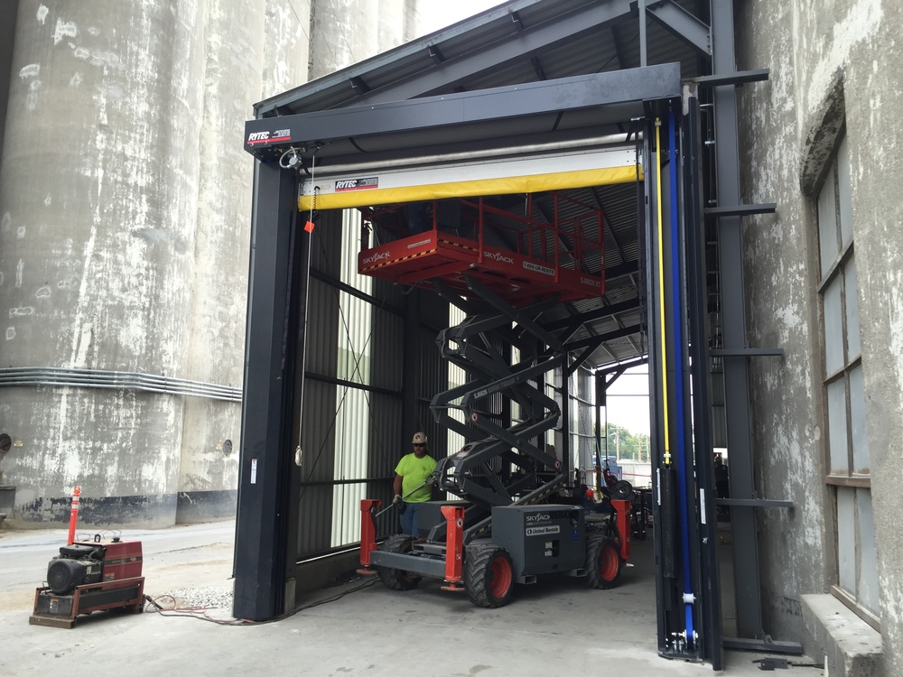 Rytec High Speed Doors Rice Equipment Co & Rytec Roll Up Doors.Flexon Doors Hormann Flexon Roll Up Doors Rubber ...