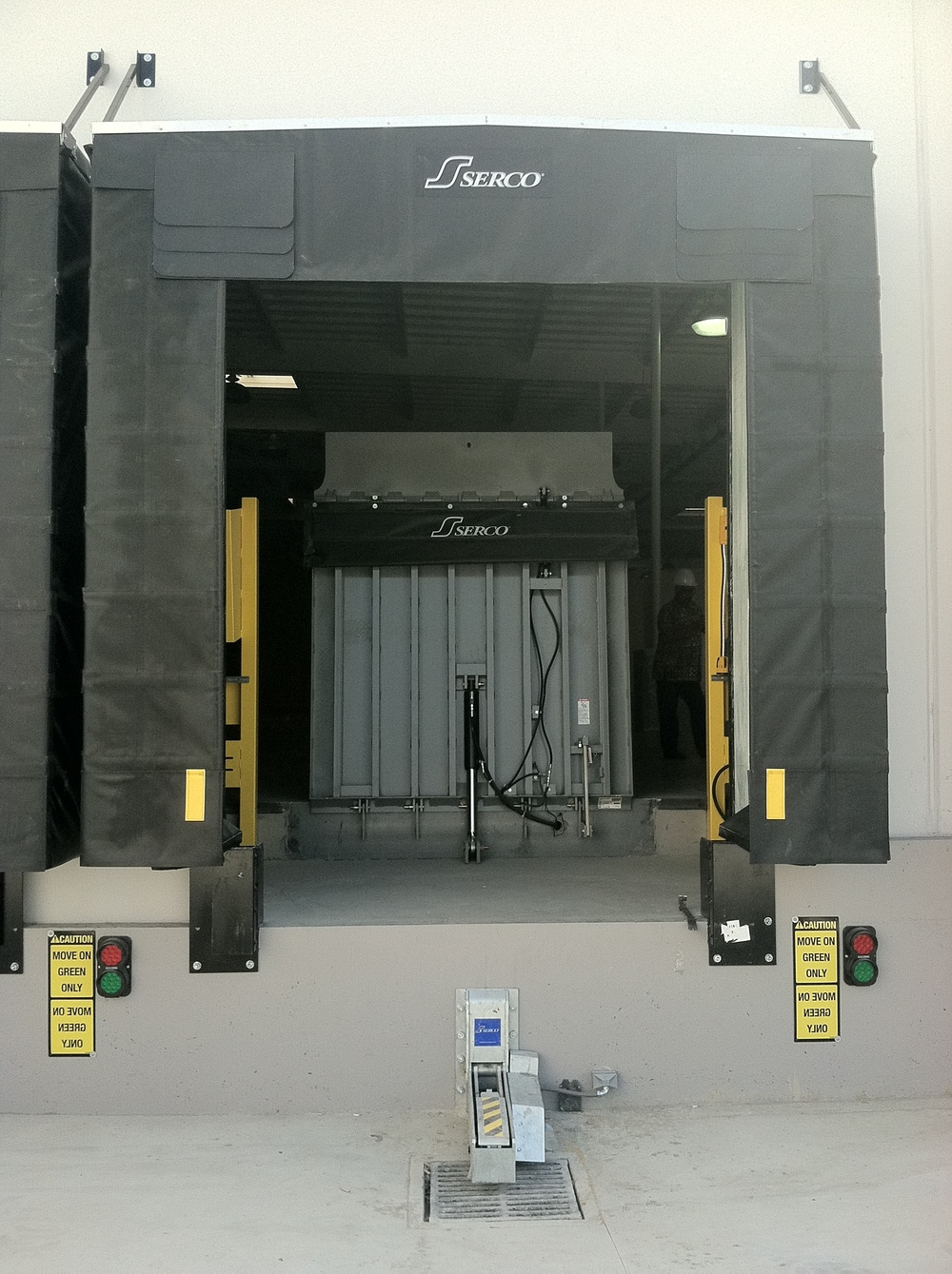 Vertical Dock Leveler St Louis Rice Equipment