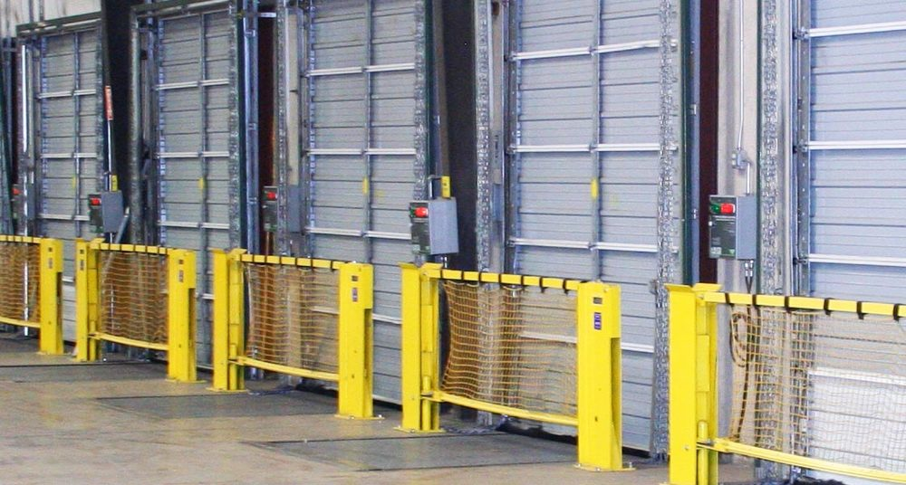 Dock Impact Barrier Multiple.jpg & Dock Impact Safety Barrier \u2014 Rice Equipment Co. Loading Dock \u0026 Door ...