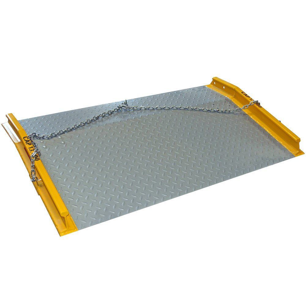 Portable dock board plate for loading docks rice equipment st louis mo