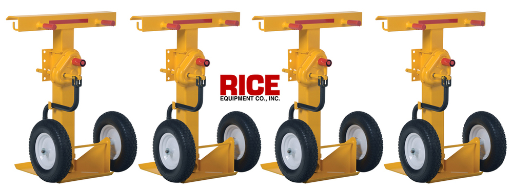 Heavy Duty Trailer Jack Stand Stabilizer Rice Equipment Loading Dock St Louis \u2014 Co., \u0026 Door Service