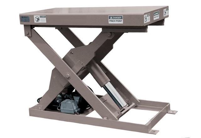 Hydraulic Dock Lifts Rice Equipment Co Loading Dock