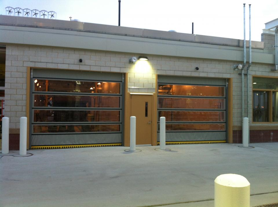 Rytec Wynd Star Car Wash Door High Speed Doors St Louis MO Rice Equipment