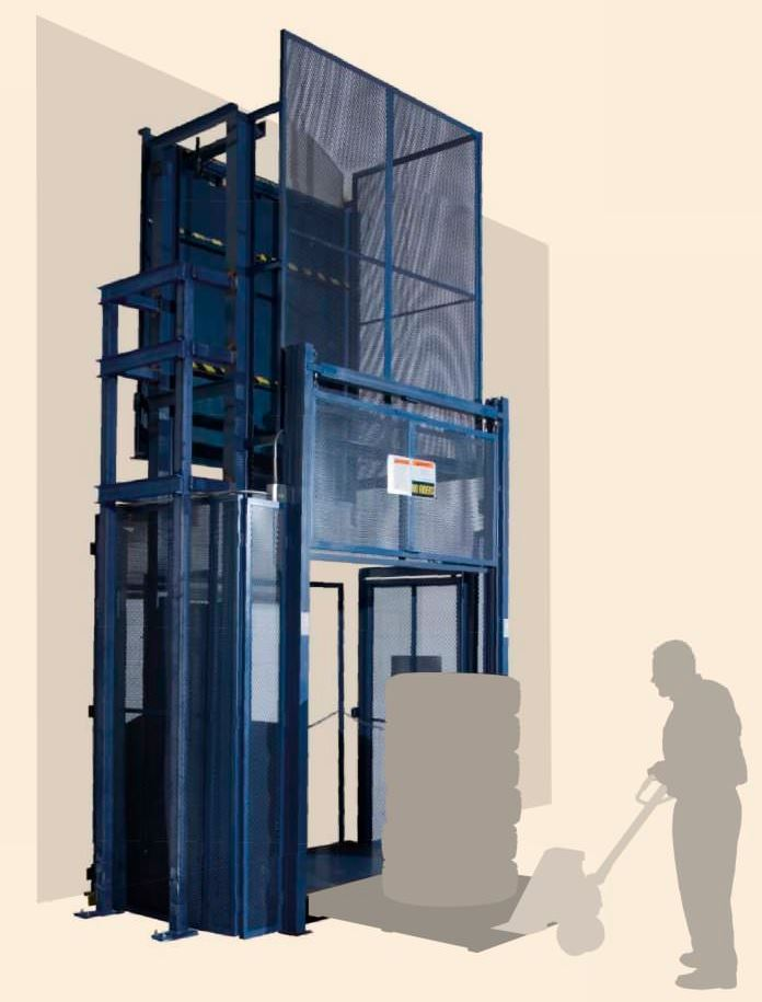Vertical Reciprocating Conveyor Material Freight Lift Elevator St Louis Rice Equipment.JPG