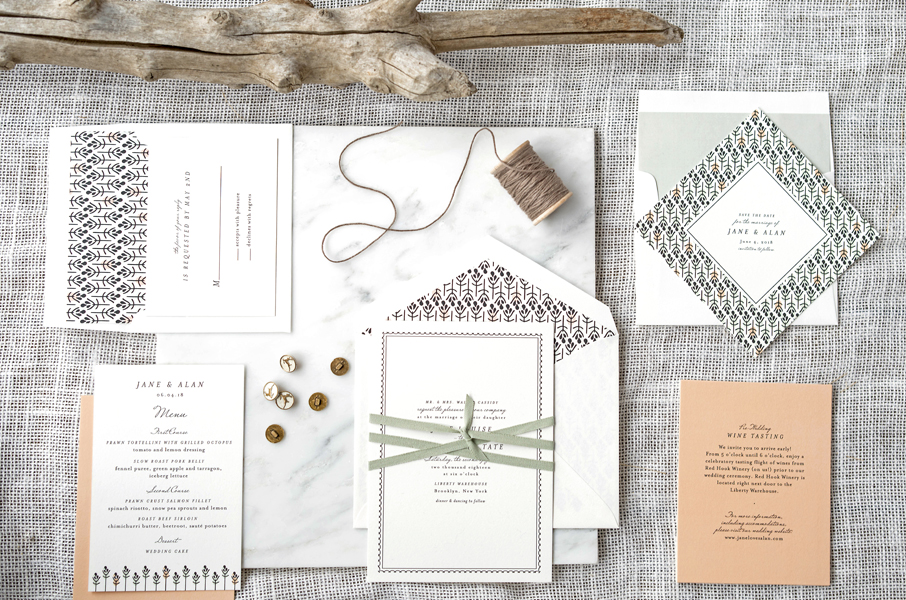 wedding invitation collection — hello tenfold wedding invitations, Wedding invitations