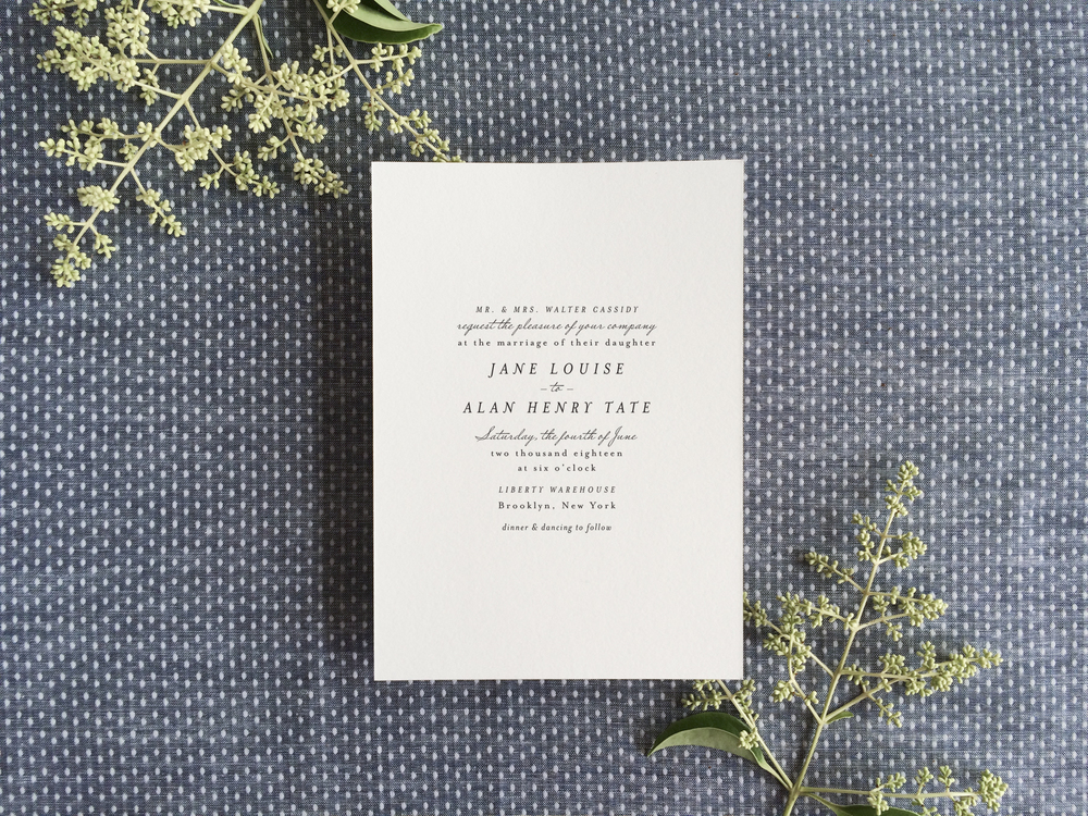 Invitation design archives hello tenfold wedding invitations dot simple wedding invitationg stopboris Choice Image