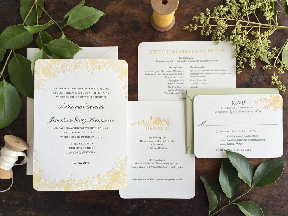 wildflower wedding invitationjpg - Picture Wedding Invitations