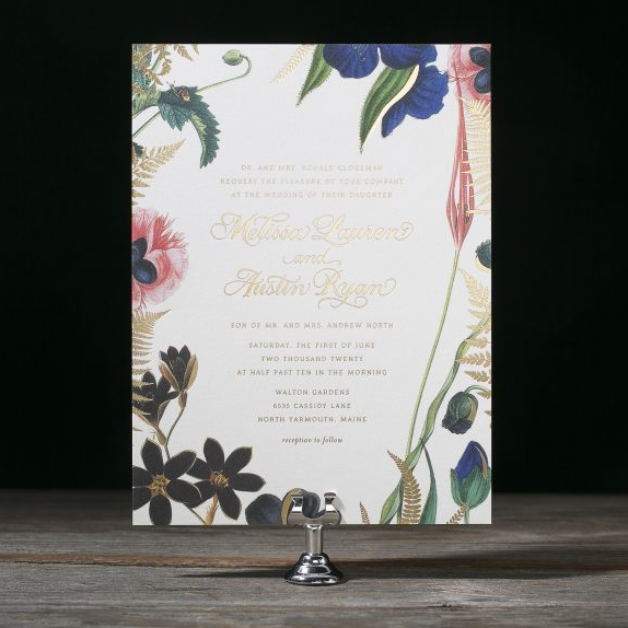Custom invitations Hello Tenfold Wedding Invitations