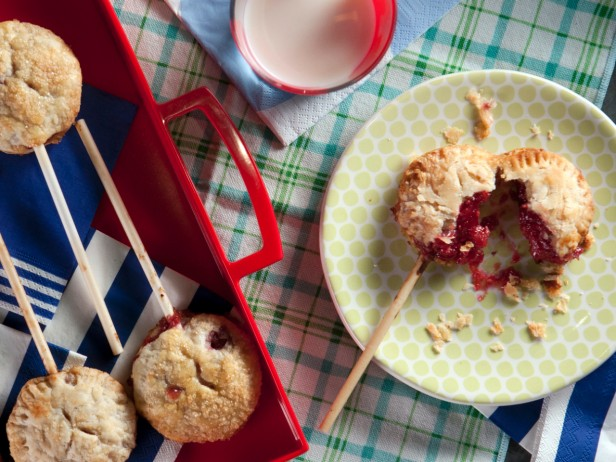 Berry Pie Pops with Perfect Pie Crust