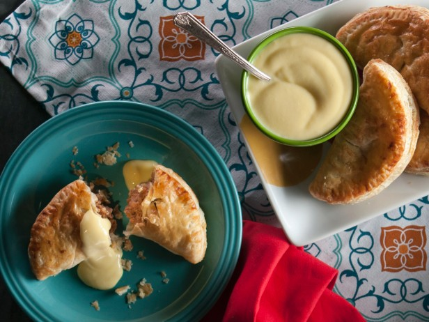 Apple Empanadas with Almond Pastry Cream