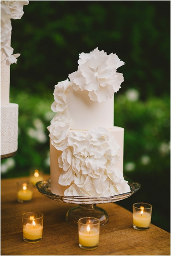 Flamengo Dancer Inspired Spanish Wedding Cake