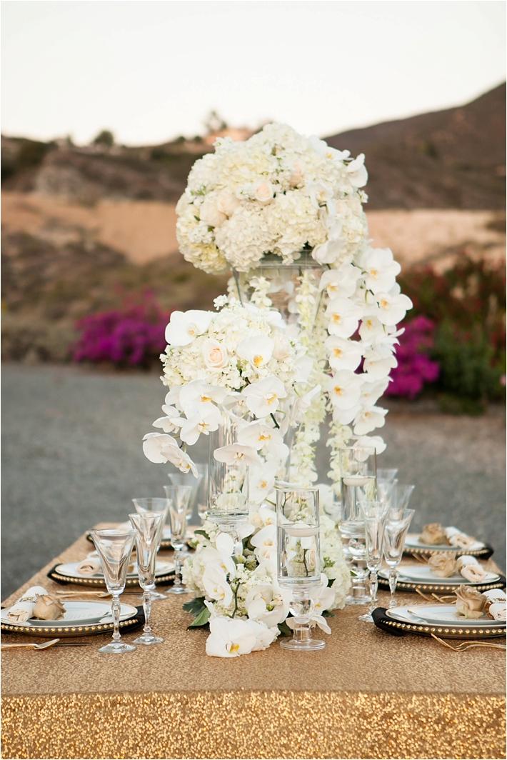 Luxe Wine Country Wedding Inspiration | RooneyGirl BakeShop