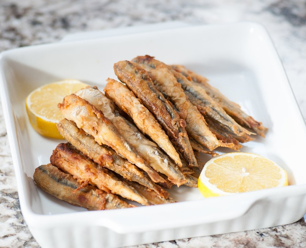 Fried Smelts