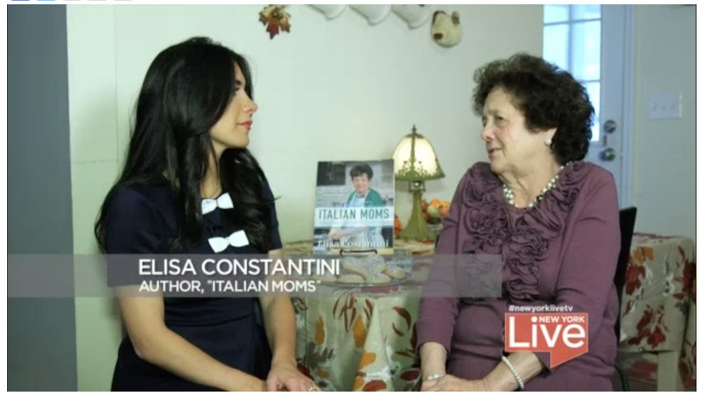 Joelle Garguilo NEW york 4, meets up with Elisa Costantini, who decided at 76 to write her first cookbook.