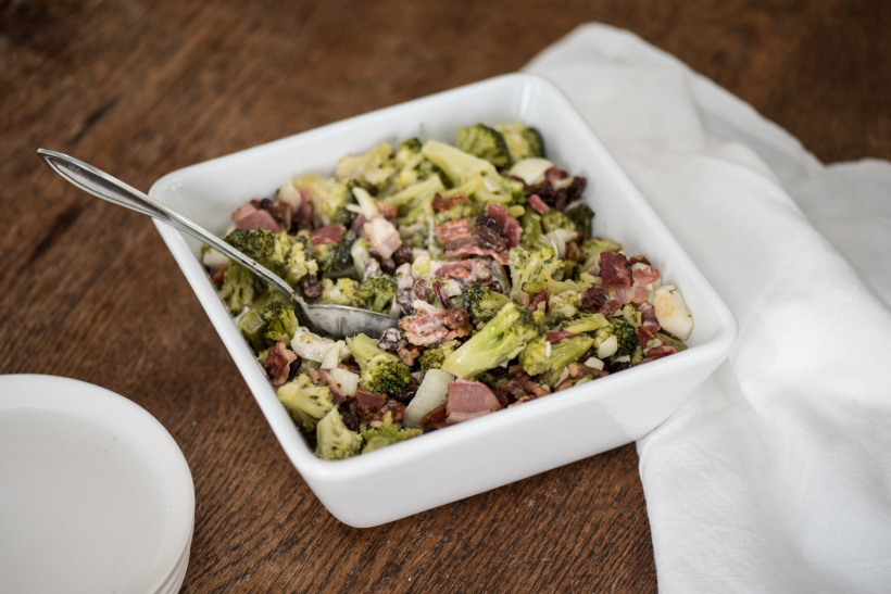 Broccoli Pancetta Salad