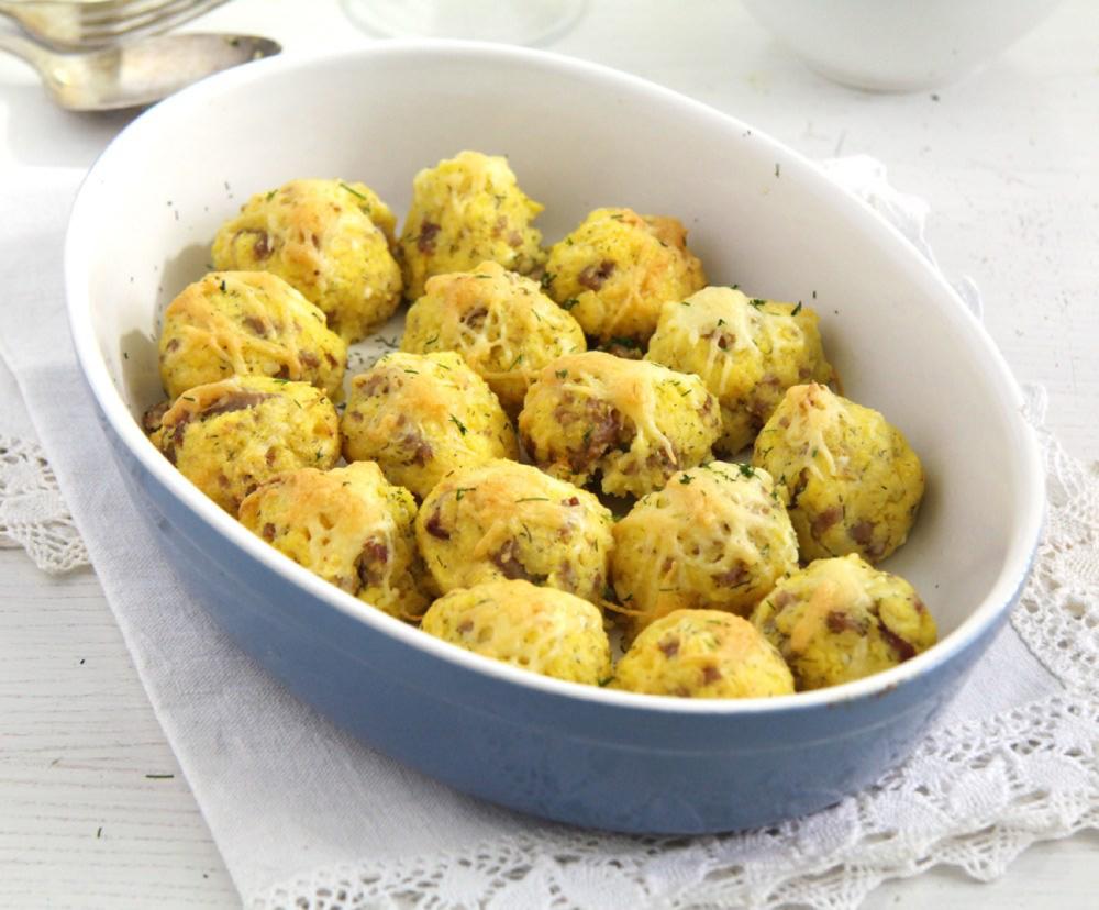 Polenta Cheese Balls