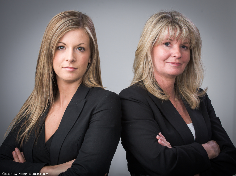 Portrait of two Real Estate Agents