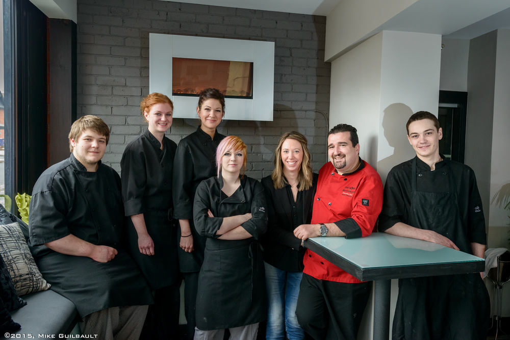 Portrait of Chef and staff