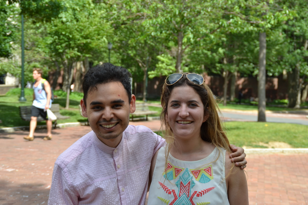 AsylumConnect Co-founders: Sayid and Katie