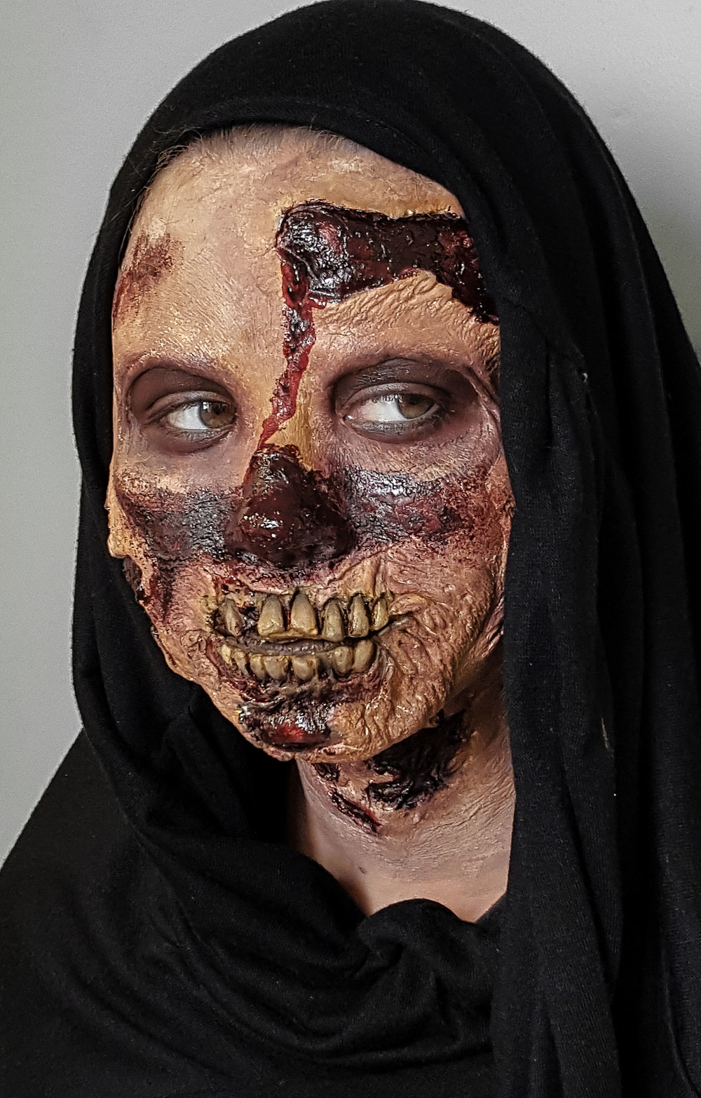 Full Face Prosthetic