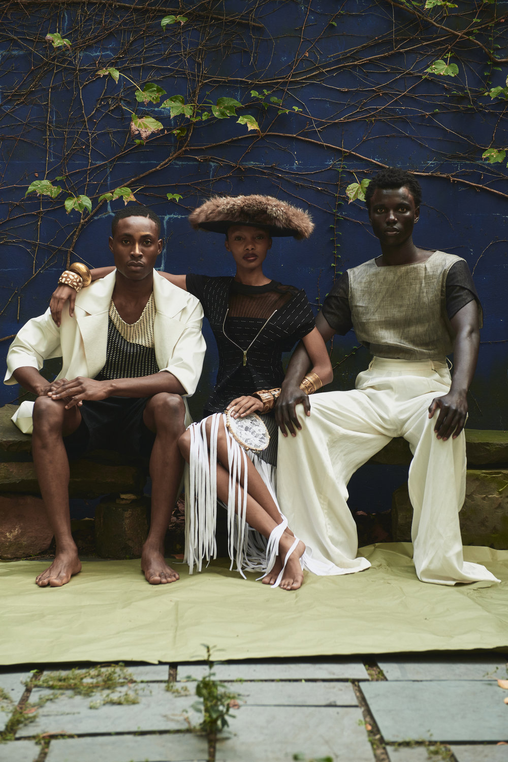 Photography: Timothy Smith - Styling: Paix Robinson - Hair/Makeup: Jake Aebly - Models: Jide Alao Yanii Gough & George Afrekh