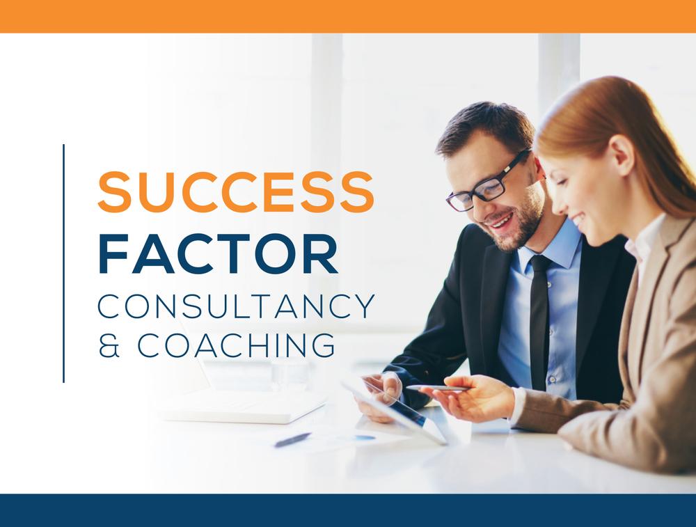 Success Factor Logo Design.