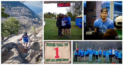 L: Breakneck Point; TM: Virgil 100 2015; TR: Medved Trail Panel; BR:MPF Team at Breakneck