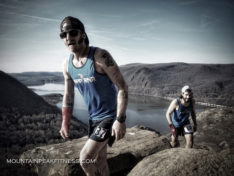 Photo: Joe Azze from Mountain Peak Fitness - Breakneck Point Trail Runs 2016