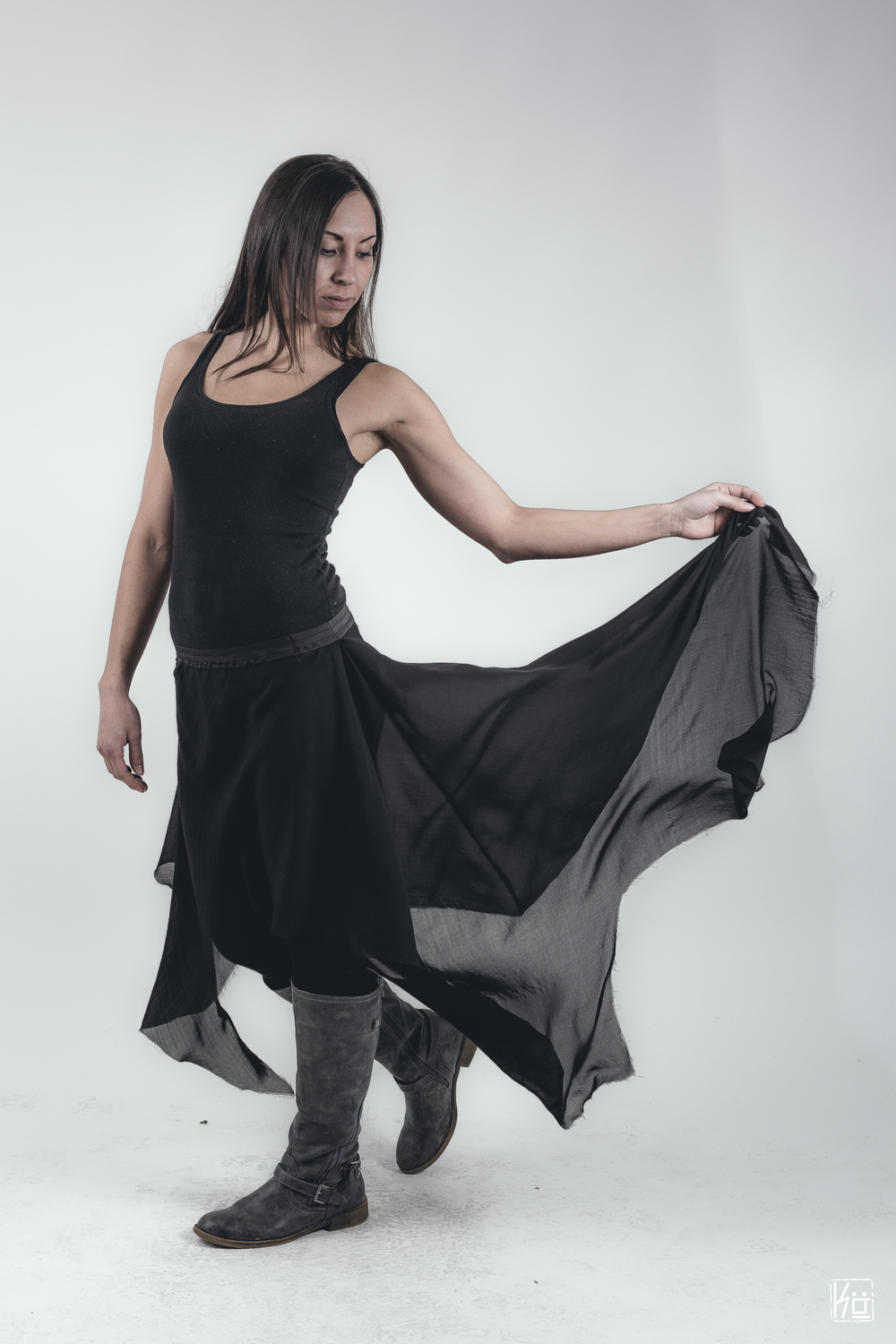 Nightbird Sheer Skirt