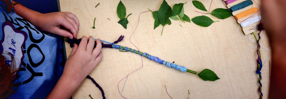 Strengthen the connection to nature, build fine motor skills, focus, concentration, and attention skills, and melt away any stress or anxiety as you wind colorful yarn and string around sticks to make your very own wand. Then, unleash the magic as you transform others into all your favorite yoga poses.