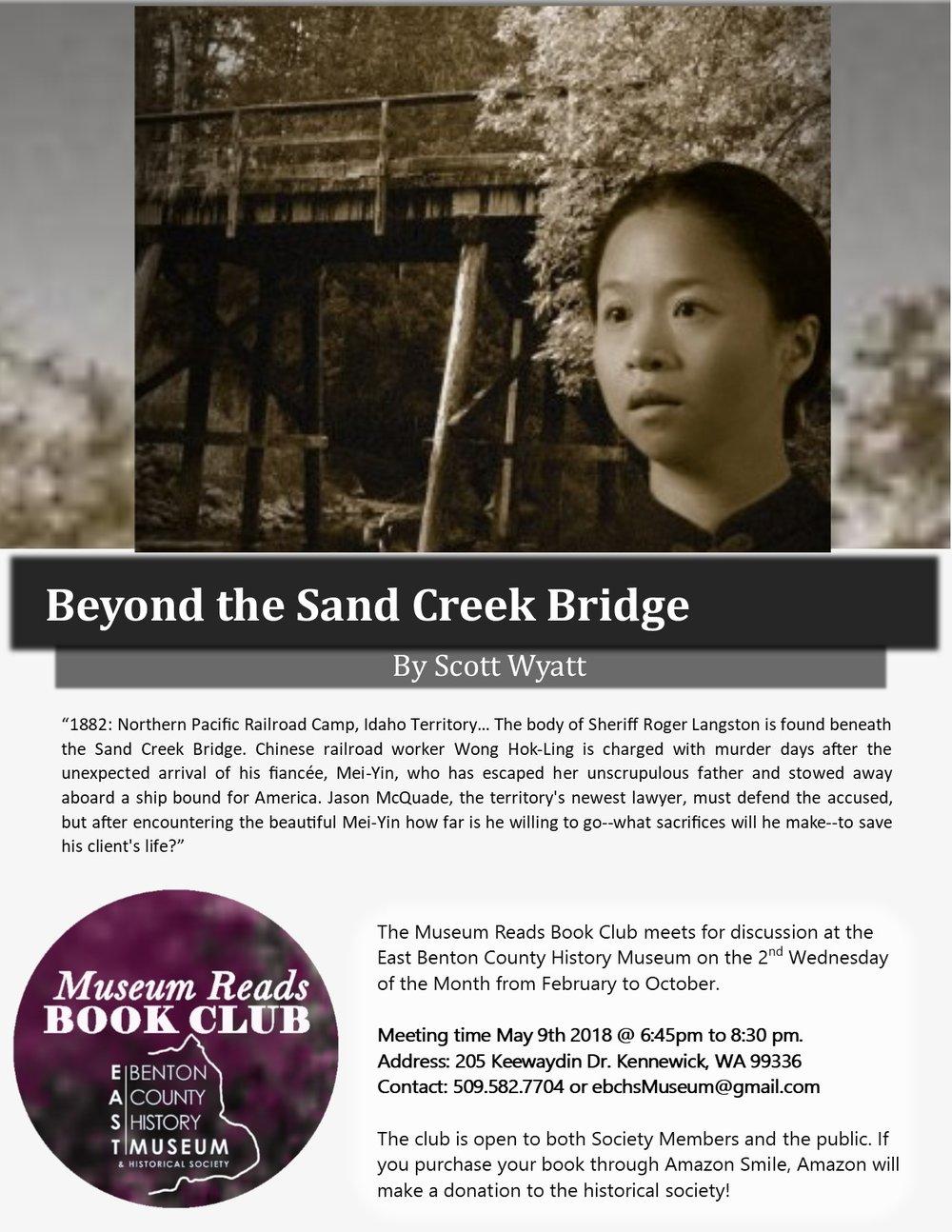 beyond sand creek bridge poster