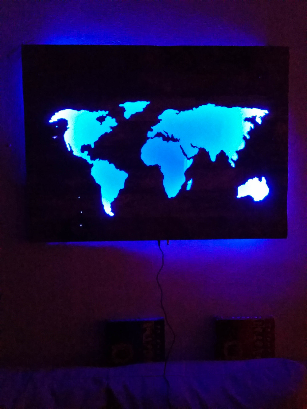Light up world map northroad creations gumiabroncs Gallery