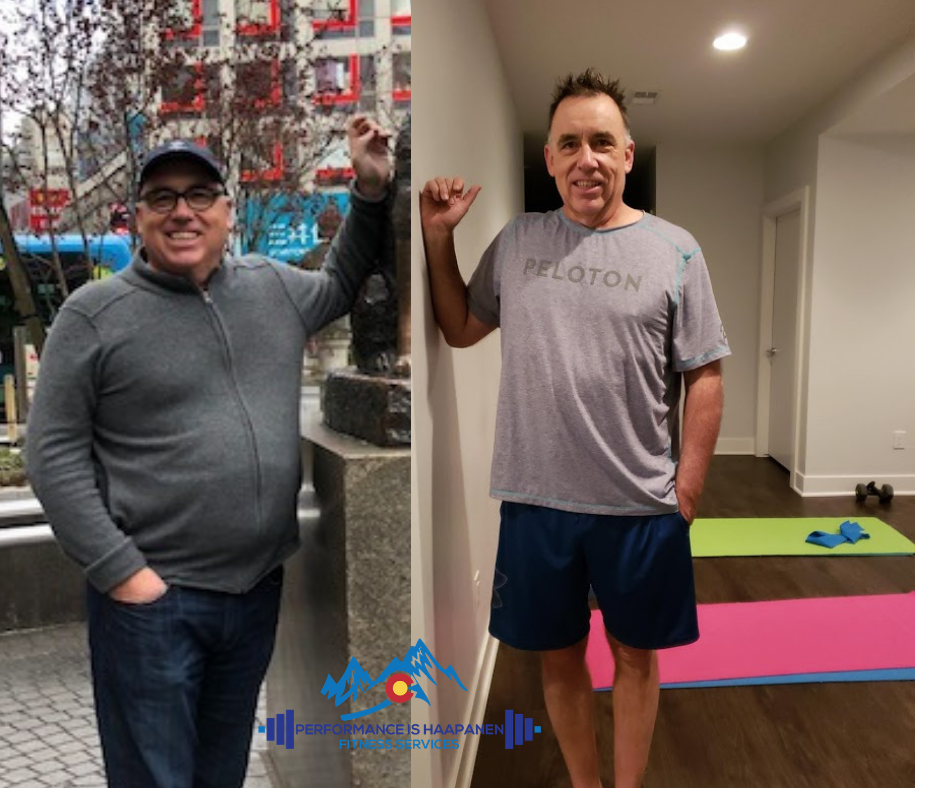 "JERRY's Journey - ""The picture on the left picture was from Tokyo in January 2018 which was my catalyst for living a commitment to change.  You have been a powerful coach on this journey.  Together with a renewed discipline for cycling and the power of working with you, I have made a lot of progress since that time -- dropping more than 50 pounds and inches forcing me to go many times back to the tailor as well as new clothes.  Saara, you have been a great help and guide on this journey and appreciate all your work to uncover my better self.I look forward to working together to accomplish even more.""-Jerry"