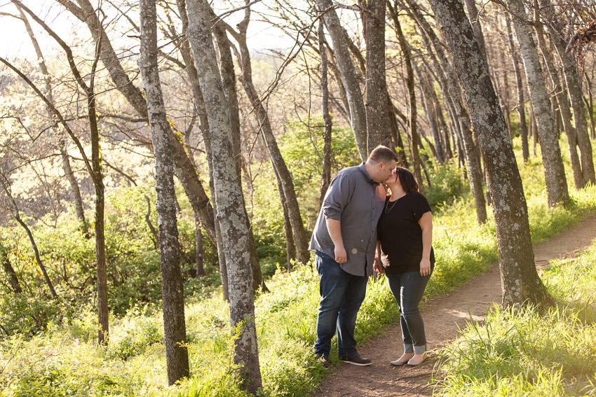 Fort Granger provided us with some beautiful light for their engagement photos.