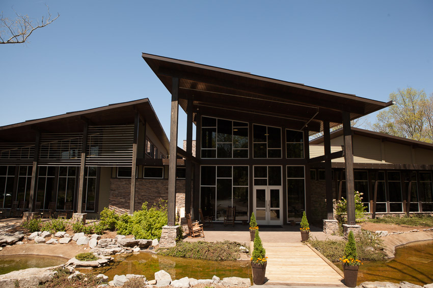 The Lodge is located on Percy Priest Lake near Nashville Tennessee.