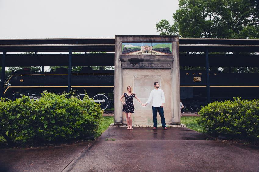 Centennial Park Nashville Engagement Session