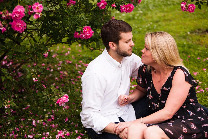 Rose Garden at Centennial photo shoot
