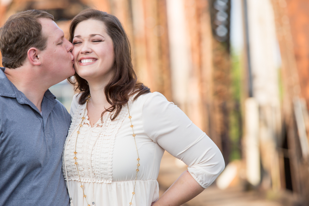 Fun Nashville Engagement Session