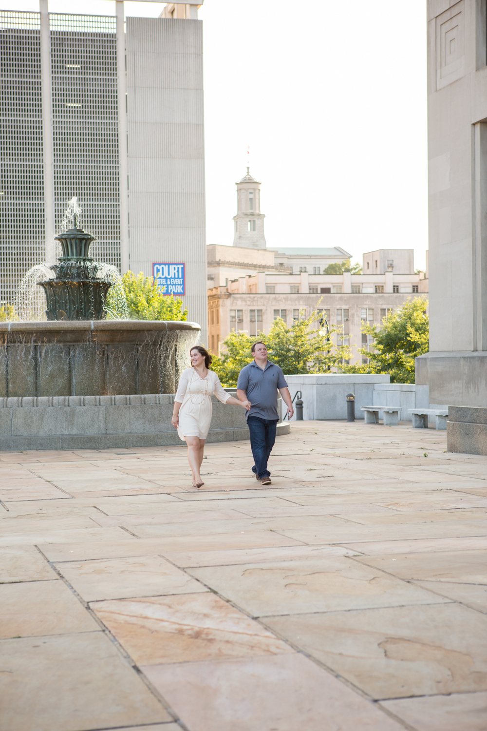Nashville Courthouse Engagement